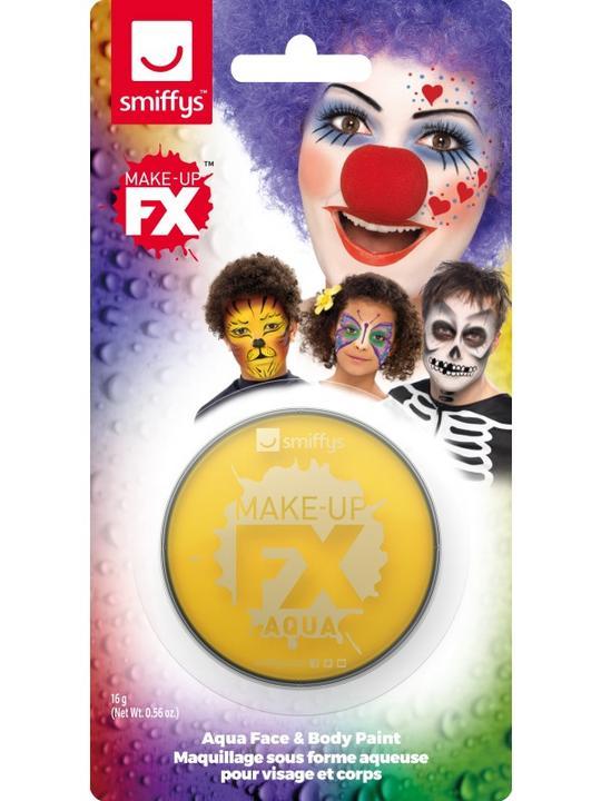 Smiffys Make-Up FX Yellow Thumbnail 1