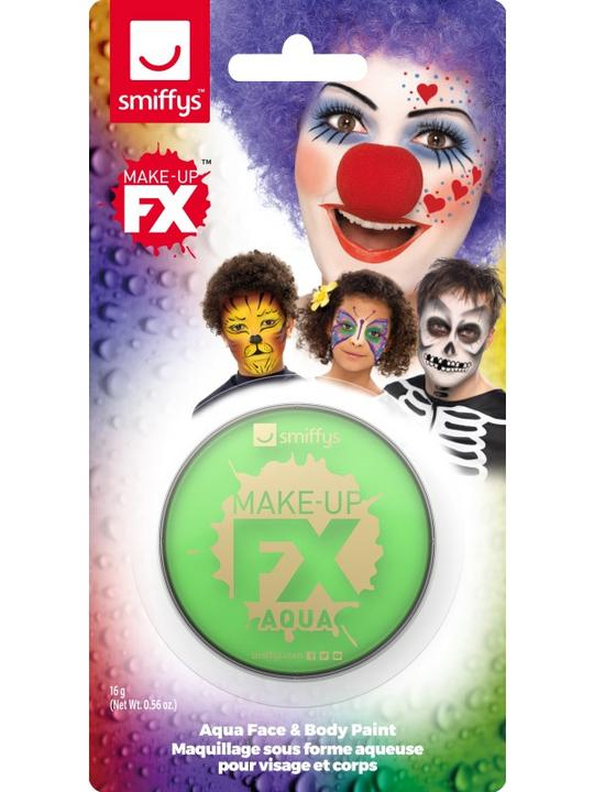 Smiffys Make-Up FX Lime Green Thumbnail 2