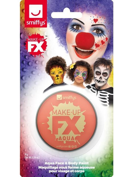 Smiffys Make-Up FX Orange Thumbnail 1