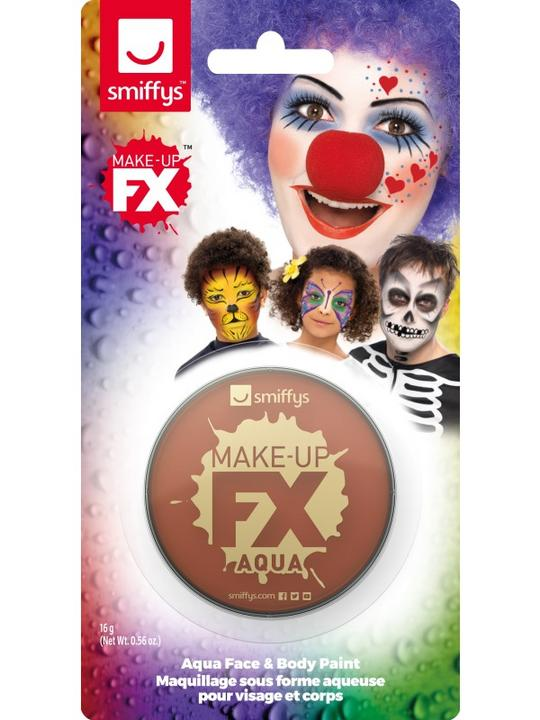 Smiffys Make-Up FX Light Brown Thumbnail 2