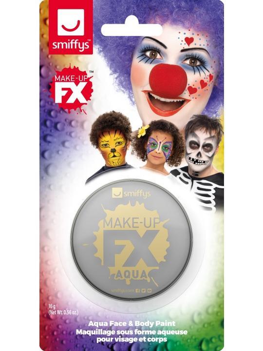 Smiffys Make-Up FX Light Grey Thumbnail 1