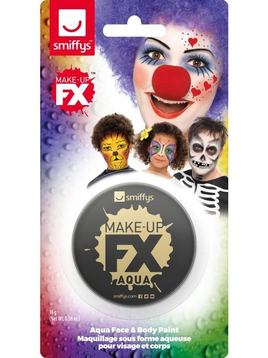 Smiffys Make-Up FX Black Thumbnail 1
