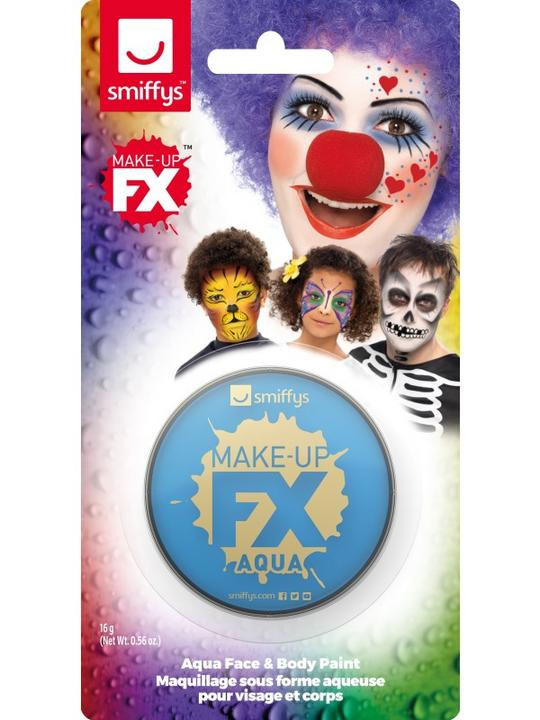 Smiffys Make-Up FX Pale Blue Thumbnail 2