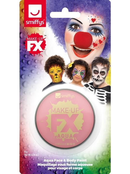 Smiffys Make-Up FX Pink Thumbnail 1