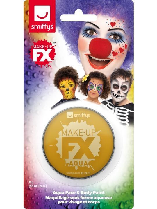 Smiffys Make-Up FX Gold Thumbnail 1