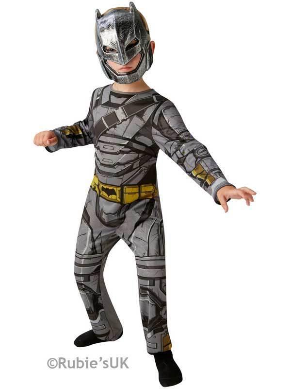 Boys BATMAN ARMOUR - DAWN OF JUSTICE Fancy Dress Costume