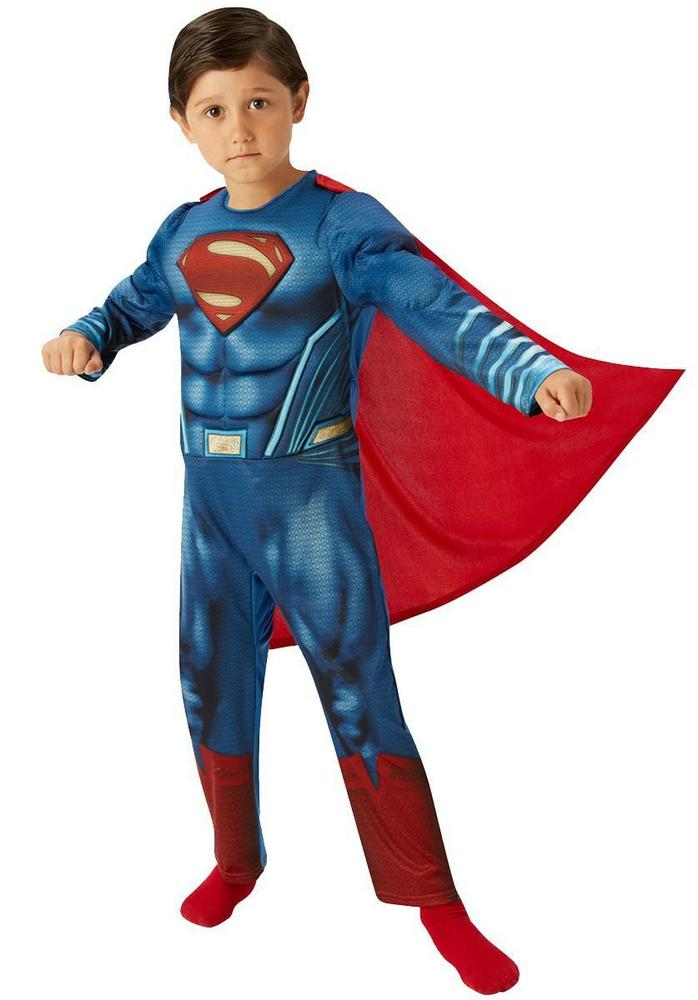 Boy's Deluxe Superman Dawn of Justice Fancy Dress Costume
