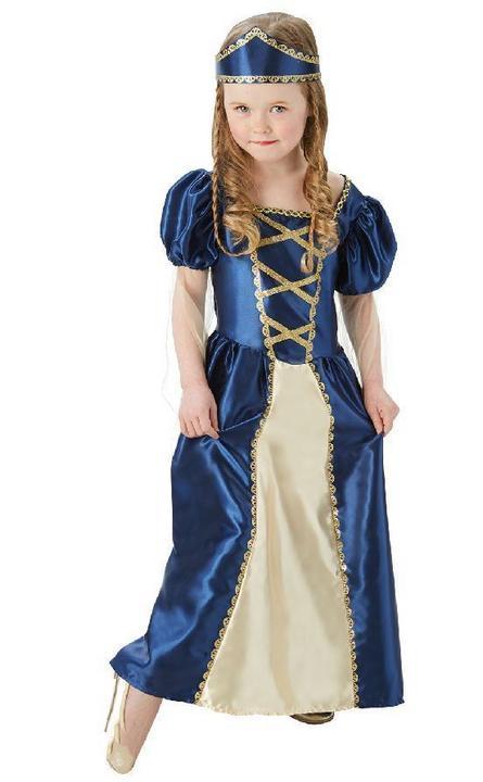Renaissance Princess Fancy Dress Costume Thumbnail 1