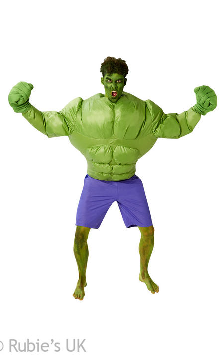Hulk Inflatable Marvel Fancy Dress Costume Thumbnail 1