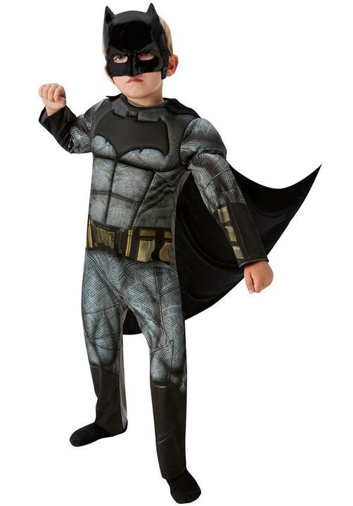 Boy's DELUXE BATMAN - DAWN OF JUSTICE Fancy Dress Costume Thumbnail 1