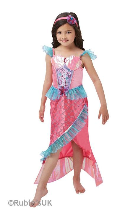 Deluxe Mermaid Princess Fancy Dress Costume Thumbnail 1
