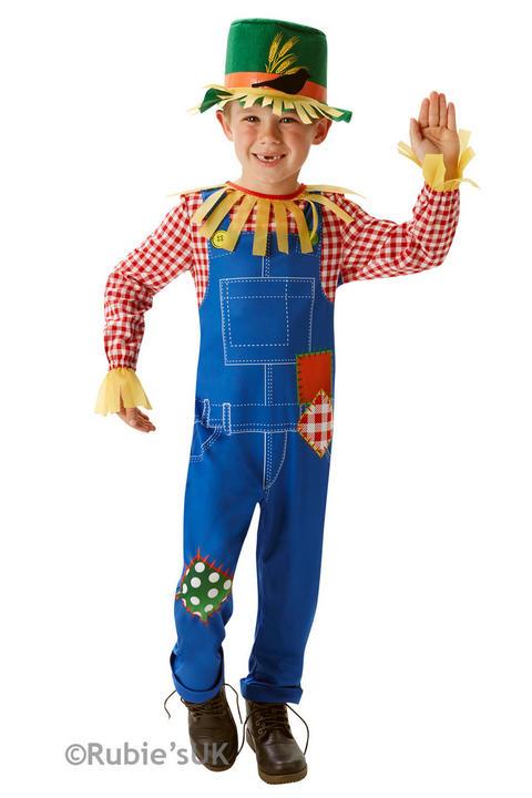 Boy's Mr Scarecrow Fancy Dress Costume Thumbnail 1