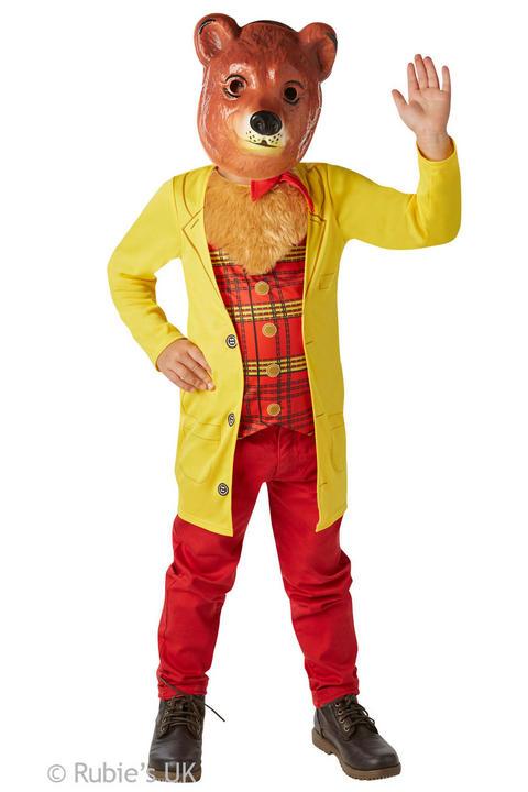 Boys Book Week Mr Bear Costume Kids Fancy Dress Outfit Thumbnail 1