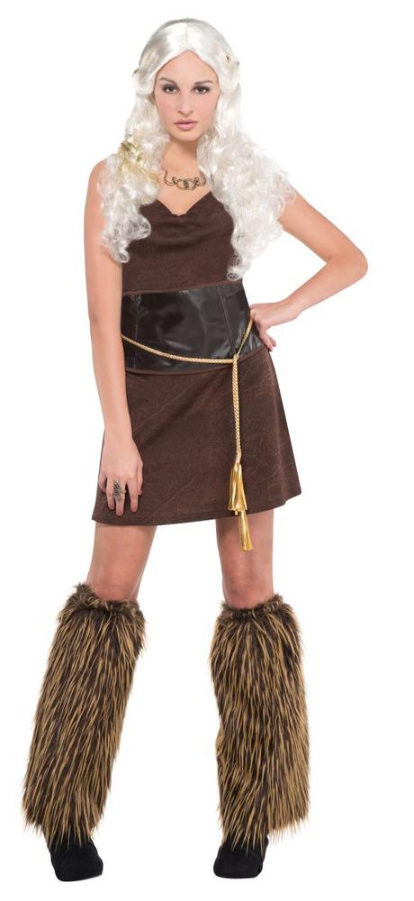Women's Warrior Fancy Dress Costume