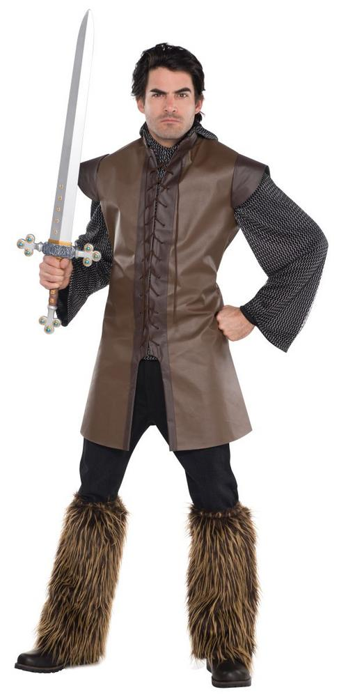Men's Warrior Tunic Fancy Dress Costume