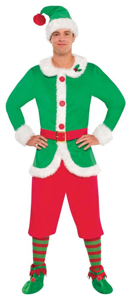Men's Elf Fancy Dress Costume