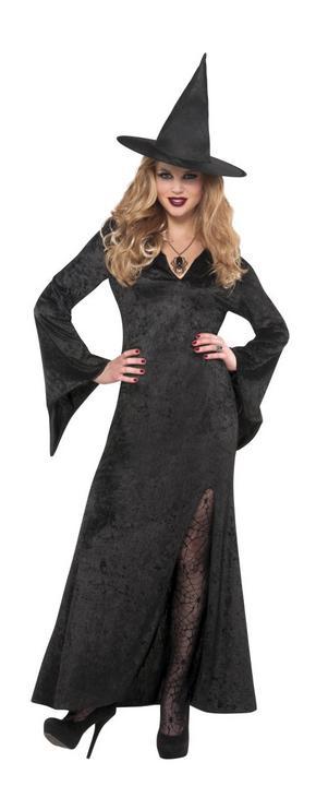 Women's Witch Fancy Dress Costume  Thumbnail 1