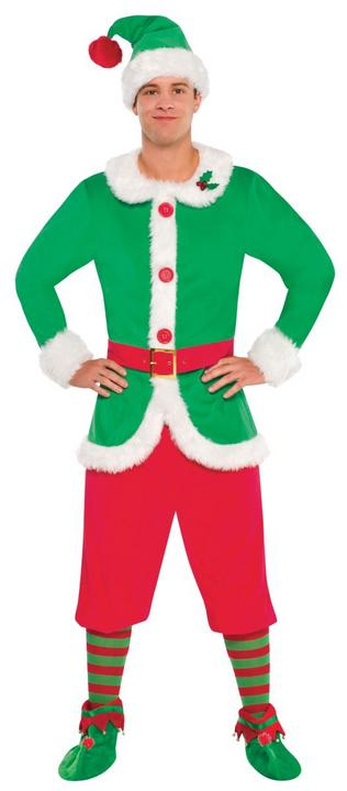 Men's Elf Fancy Dress Costume Thumbnail 1