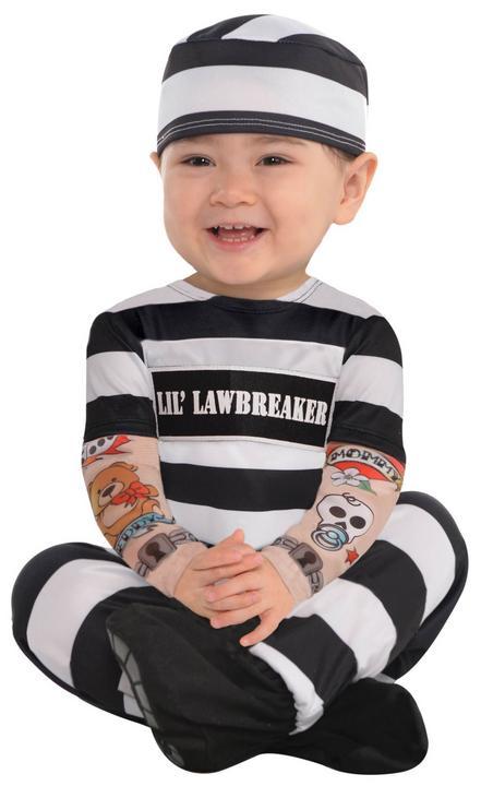 Baby Little Rebels Lil Law Breaker Costume  Thumbnail 1