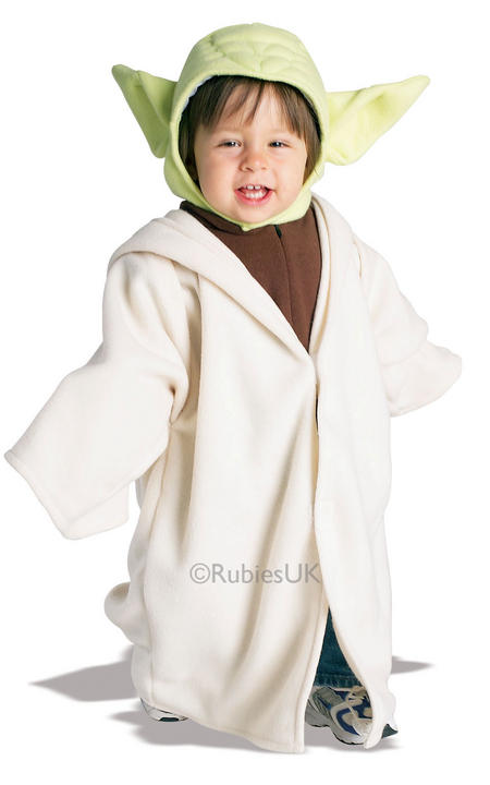 Boys Yoda Fancy Dress Costume Thumbnail 1