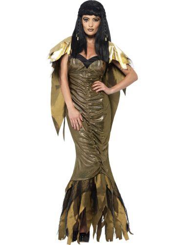 Ladies Dark Cleopatra Costume Thumbnail 1