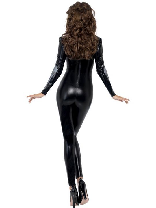Fever Skeleton Catsuit  Costume Thumbnail 3