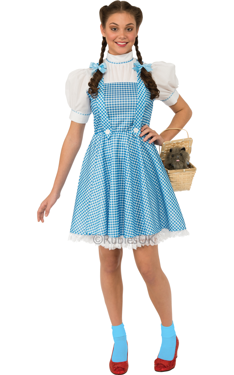 48e12f1b4187d SALE Adult Licensed Wizard of Oz Dorothy Ladies Fancy Dress Costume ...