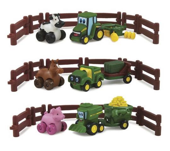 JOHNNY & FRIENDS FARM ADVENTURE PLAYSET ASSORT Thumbnail 1