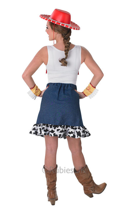 Adult Disney Toy Story Sassy Cowgirl Jessie Ladies Fancy Dress Costume Outfit Thumbnail 2