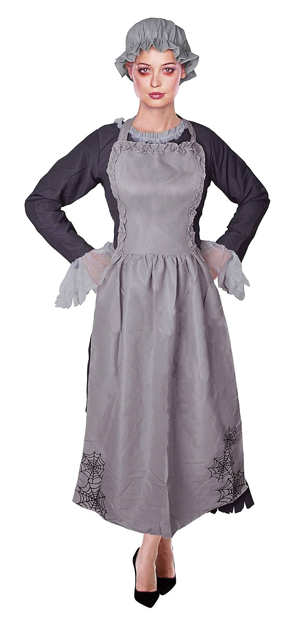 adult zombie freaky ghost victorian maid ladies halloween fancy
