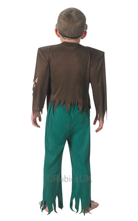 Kids Frankenstein Frank'nstein Boys Halloween Party Fancy Dress Costume Outfit Thumbnail 2