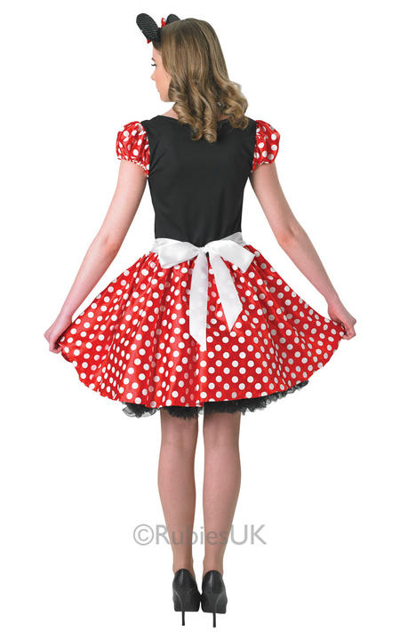 SALE! Adult Sassy Disney Minnie Mouse Ladies Fancy Dress Costume Party Outfit  Thumbnail 2