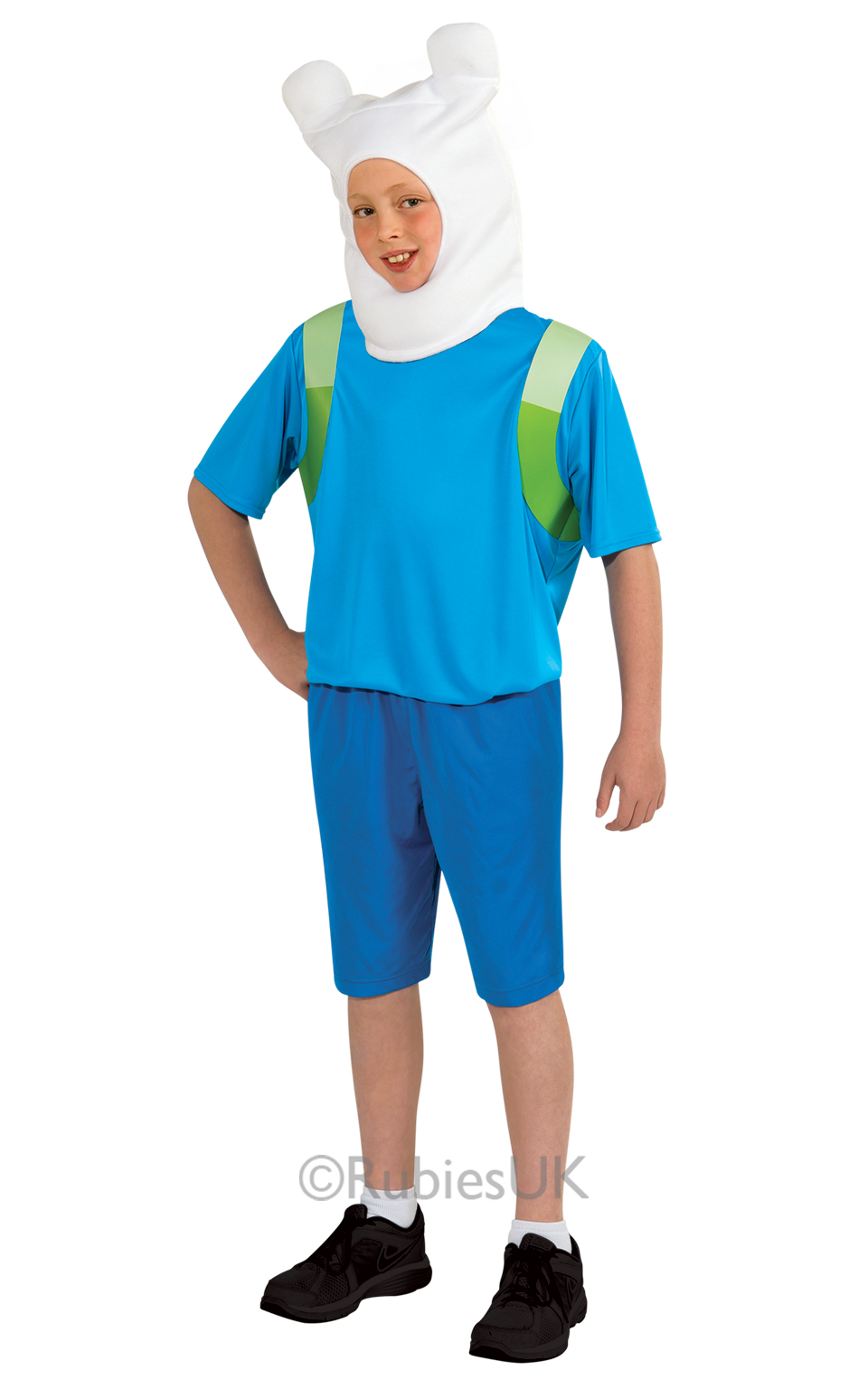 Child TV Show Adventure Time Finn The Human Boys Fancy Dress Kids ...