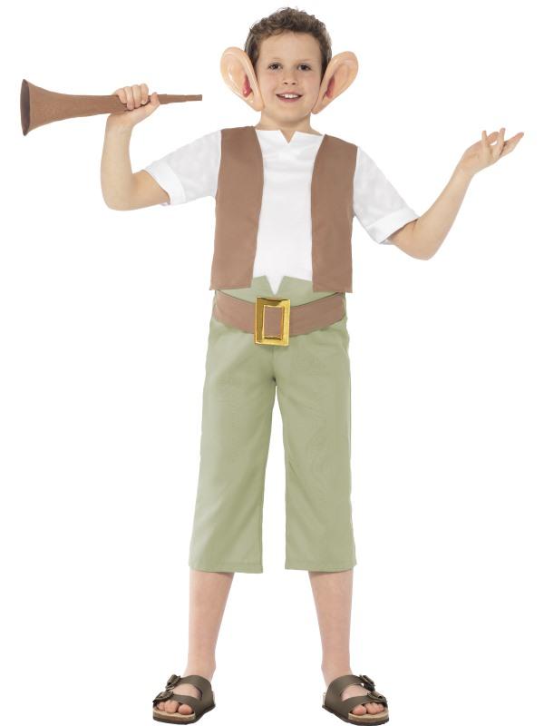 Kids Licensed Roald Dahl BFG Boys World Book Week Fancy Dress Costume Outfit