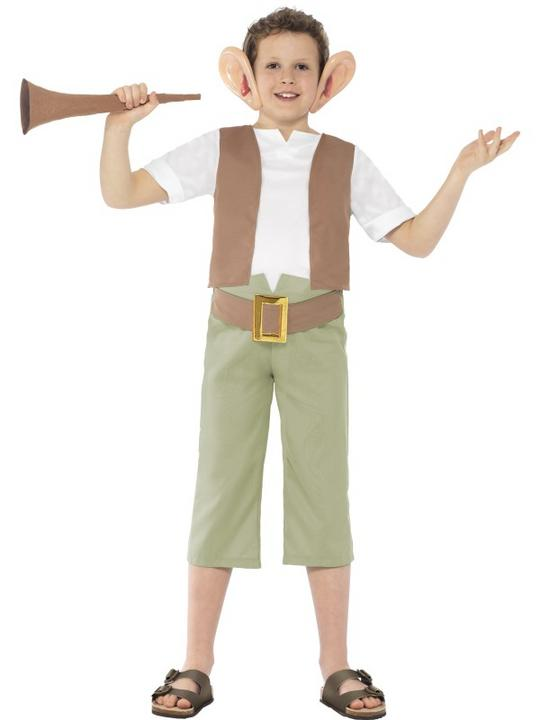 Kids Licensed Roald Dahl BFG Boys World Book Week Fancy Dress Costume Outfit Thumbnail 1