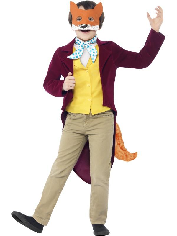 Kids Roald Dahl Fantastic Mr Fox Boys World Book Week Fancy Dress Costume Outfit