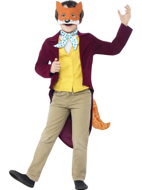 Kids Roald Dahl Fantastic Mr Fox Boys World Book Week Fancy Dress Costume Outfit Thumbnail 1