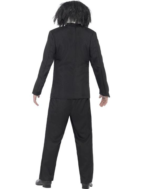Adult Movie Licensed Saw Jigsaw Mens Halloween Party Fancy Dress Costume Outfit Thumbnail 2