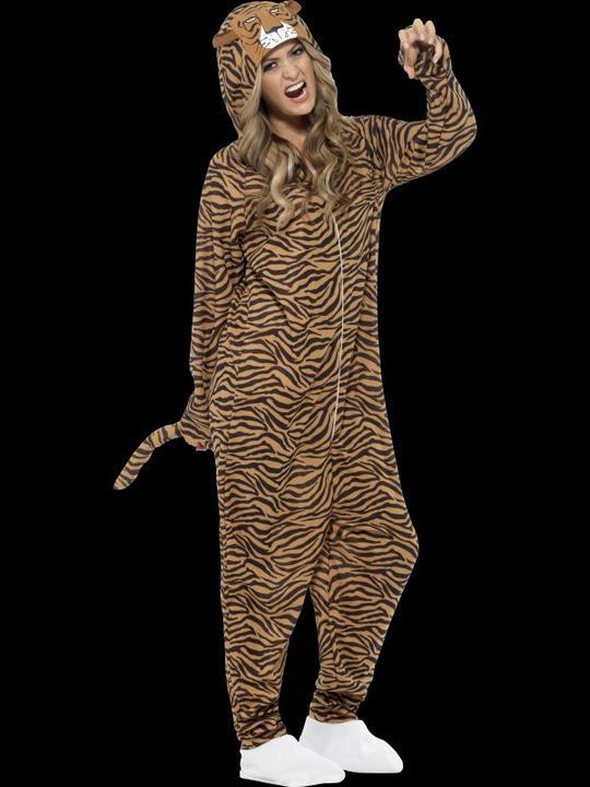 Adults Tiger Costume Thumbnail 1