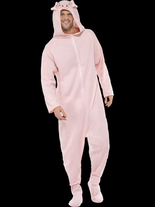 Adult Pig Costume Thumbnail 1