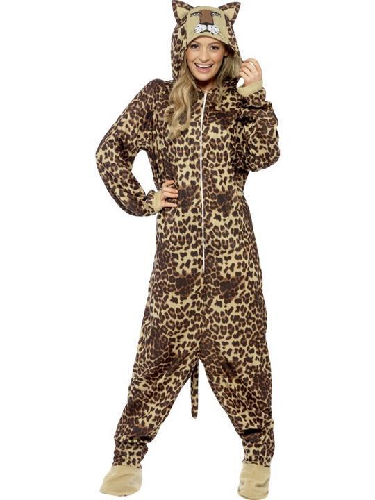 Adult Leopard Costume Thumbnail 2