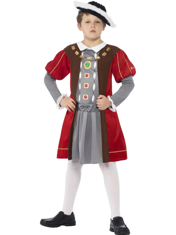 SALE! Kids Horrible Histories King Henry VIII Boys Book Week Fancy Dress Costume