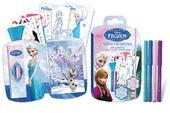 Disney Frozen Mini Designs Book. Colour Anna, Elsa and Olaf in the go.