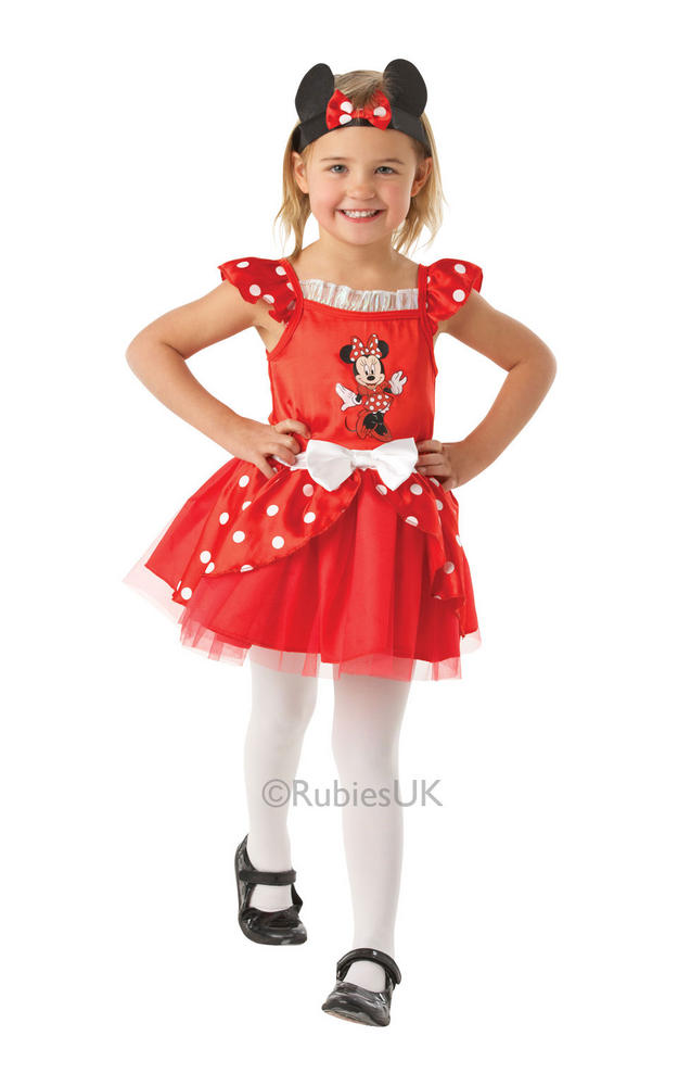 Minnie Mouse Red Ballerina