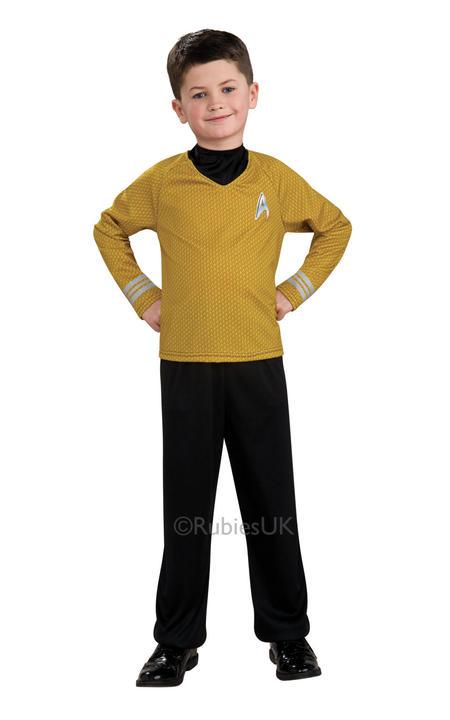 Childs Star Trek Captain Kirk Shirt Thumbnail 1