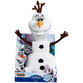 Licensed Disney FROZEN Talking Funny OLAF The Snowman 36cm Soft Tickle Time Toy