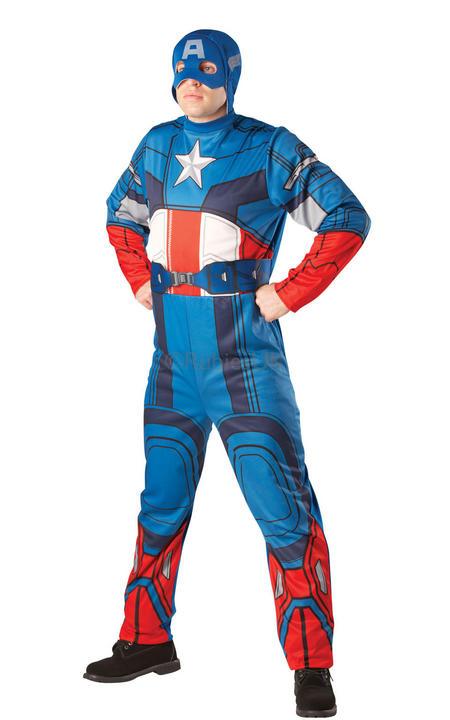 Marvel Adult Captain America  Thumbnail 1