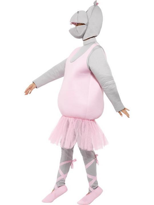 Adult Ballerina Hippo Costume Thumbnail 6