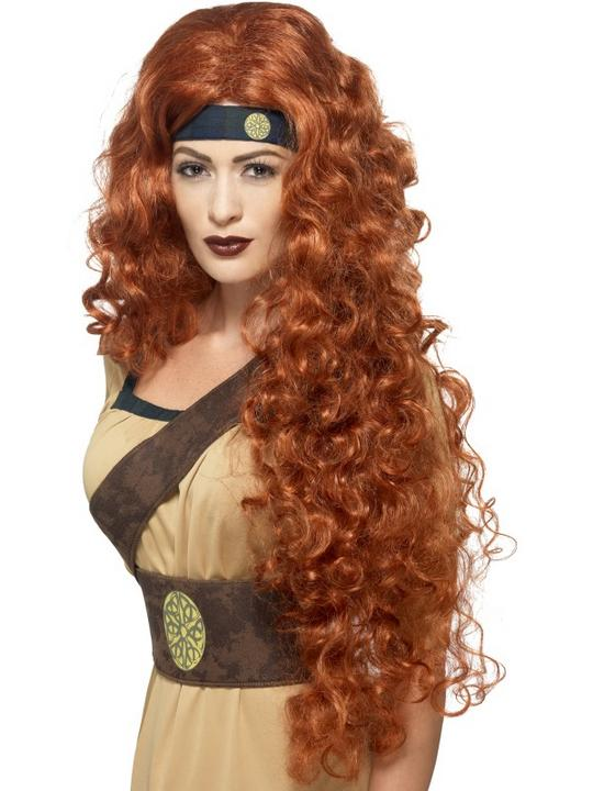 Medieval Warrior Queen Wig Thumbnail 1