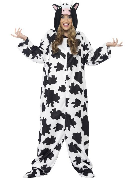 Adult Cow Costume Thumbnail 2